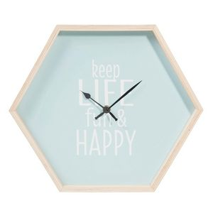 Maisons du monde - keep life fun - Horloge Murale