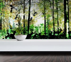 IN CREATION - forêt wild 5 - Papier Peint Panoramique