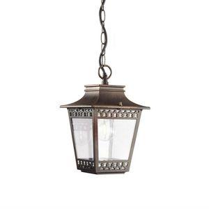 Lanterne Suspension Gris Feuillagée Foncé Fer D'extérieur Forgé n0mNw8