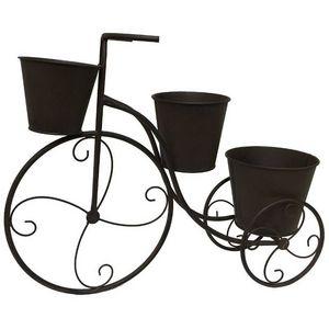 CHEMIN DE CAMPAGNE - velo porte plante bicyclette jardinière cache pot  - Jardinière