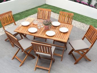 BELIANI - table de jardin - Table De Jardin