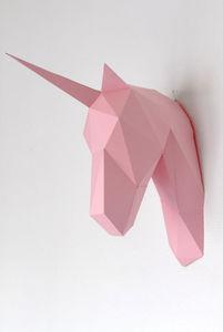Artwall and CO - -licorne papier - Trophée Enfant