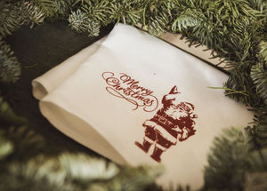 Libeco Home - noël / merry christmas - Serviette De Table