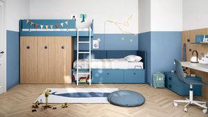 HAPPY HOURS - nidi - Chambre Enfant 4 10 Ans