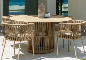 ITALY DREAM DESIGN -  - Table De Jardin Ronde