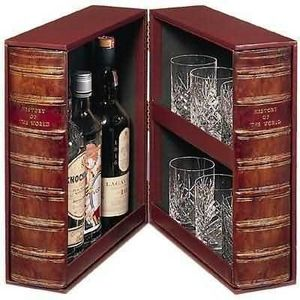 The Original Book Works - drinks box f0901 (contents not included) - Cave À Liqueur
