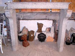 Antik Materiaux -  - Cheminée À Foyer Ouvert