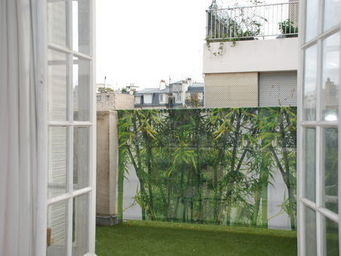 VISUA - brise vue bambou - Toile D�corative D'ext�rieur