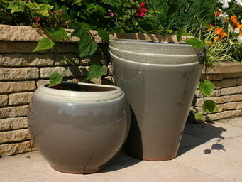 Les Poteries D'albi - osaka et tokyo - Pot De Jardin