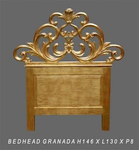 DECO PRIVE - tête de lit en bois doré modèle granada - en stock - Tête De Lit