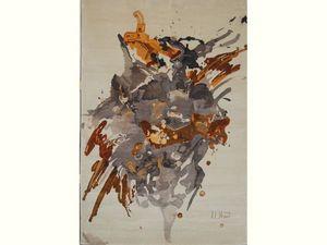 CNA Tapis - tapisserie murale en soie naturelle - Tapisserie Contemporaine