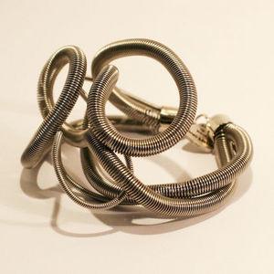 Sandrine Giraud - spirale argent - Bracelet