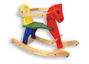 Andreu-Toys - caballo balancin con soporte - Cheval � Bascule
