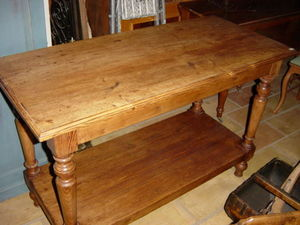 Alain Billard -  - Table De Drapier