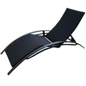 LE RÊVE CHEZ VOUS - chaise longue, bain de soleil aluminium en résine - Bain De Soleil