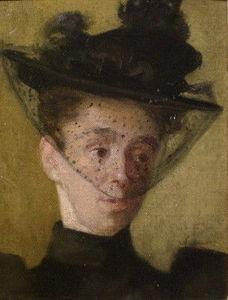 SARAH COLEGRAVE - portrait study a. e. dixon - Portrait