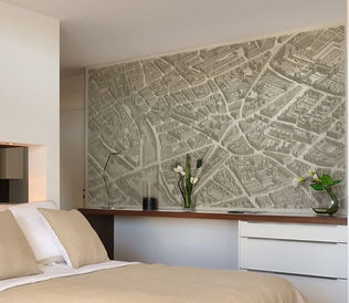 papier peint panoramique papiers de paris decofinder. Black Bedroom Furniture Sets. Home Design Ideas