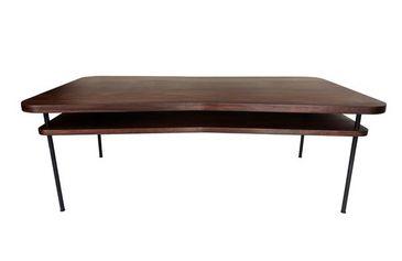 lotus table basse rectangulaire brun sarah lavoine. Black Bedroom Furniture Sets. Home Design Ideas