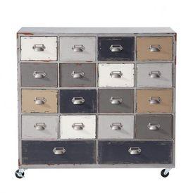 Cabinet od on meuble tiroirs maisons du monde - Meuble maison du monde ...