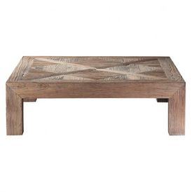 Table basse bruges table basse rectangulaire maisons - Maison du monde table de salon ...