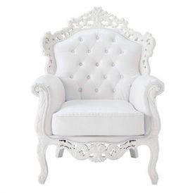 Fauteuil barocco fauteuil bridge blanc maisons du monde - Maison du monde fauteuil enfant ...