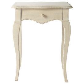 Chevet cr me honor table de chevet maisons du monde - Petite table maison du monde ...