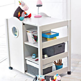 meuble volutif rangement mobile enfant oxybul decofinder. Black Bedroom Furniture Sets. Home Design Ideas