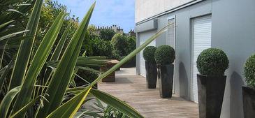 Terrasse aménagée - Naturel - Bois - Terrasse Concept