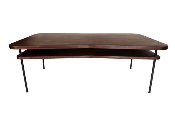 Lotus Table Basse Rectangulaire Brun Maison Sarah Lavoine