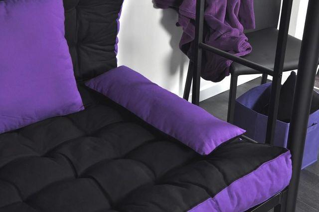matelas et coussins pour banquette lit mezzapeigne. Black Bedroom Furniture Sets. Home Design Ideas
