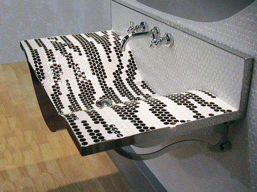 variations carrelage mural emaux de briare decofinder. Black Bedroom Furniture Sets. Home Design Ideas