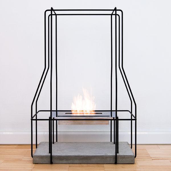 wireplace chemin e sans conduit d 39 vacuation fer. Black Bedroom Furniture Sets. Home Design Ideas