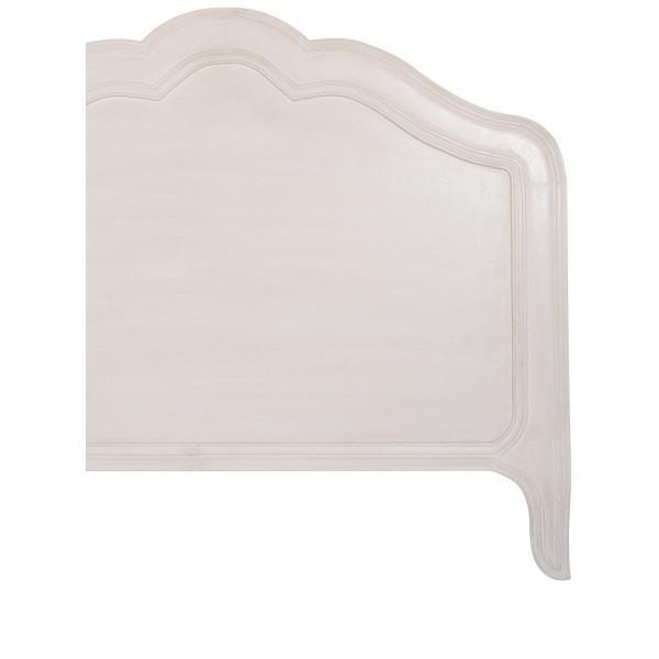 lauren 160 nuage t te de lit blanc d 39 ivoire decofinder. Black Bedroom Furniture Sets. Home Design Ideas