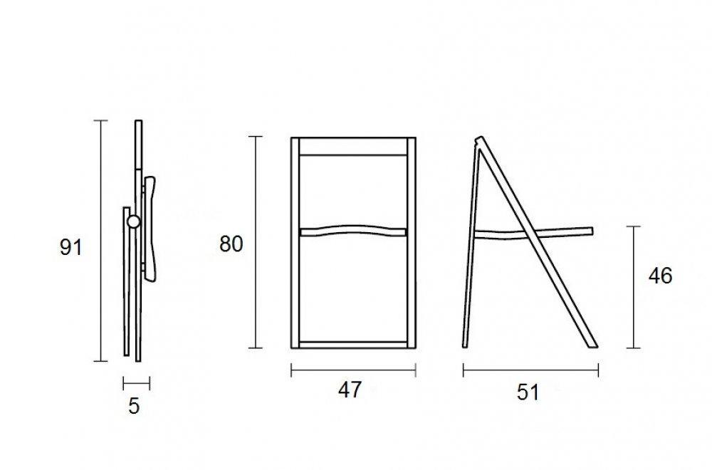 chaise pliante skip blanche et aluminium satin de. Black Bedroom Furniture Sets. Home Design Ideas