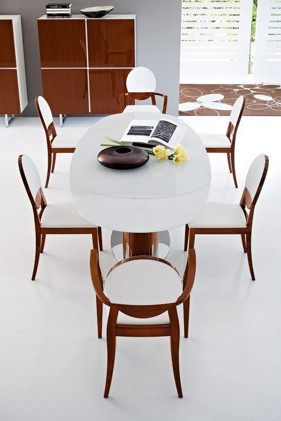 Table Repas Ovale Extensible ODYSSEY 165x105 En Ve