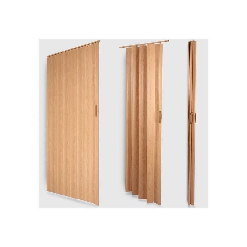 Porte accordéon pliante extensible PVC  Porte pliante  WHITE LABEL