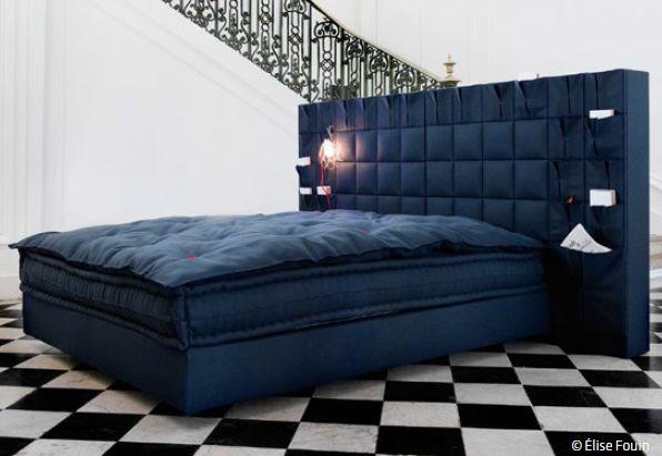 origami lit double le lit national decofinder. Black Bedroom Furniture Sets. Home Design Ideas