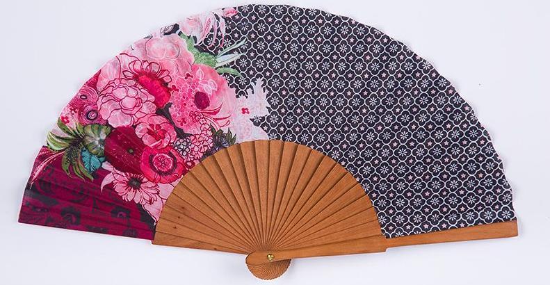 Vent De Boheme lila - eventail - rose - vent de boheme | decofinder