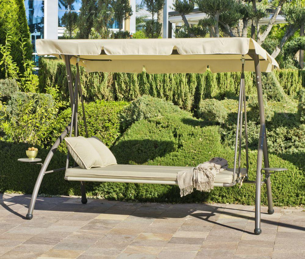 balancelle de jardin en acier canada balancelle hevea. Black Bedroom Furniture Sets. Home Design Ideas