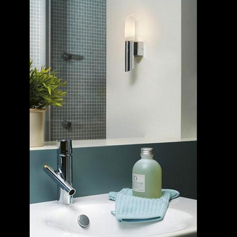 Applique salle de bain design stim ip44 h25 cm applique de salle de bains philips - Applique salle de bain design ...