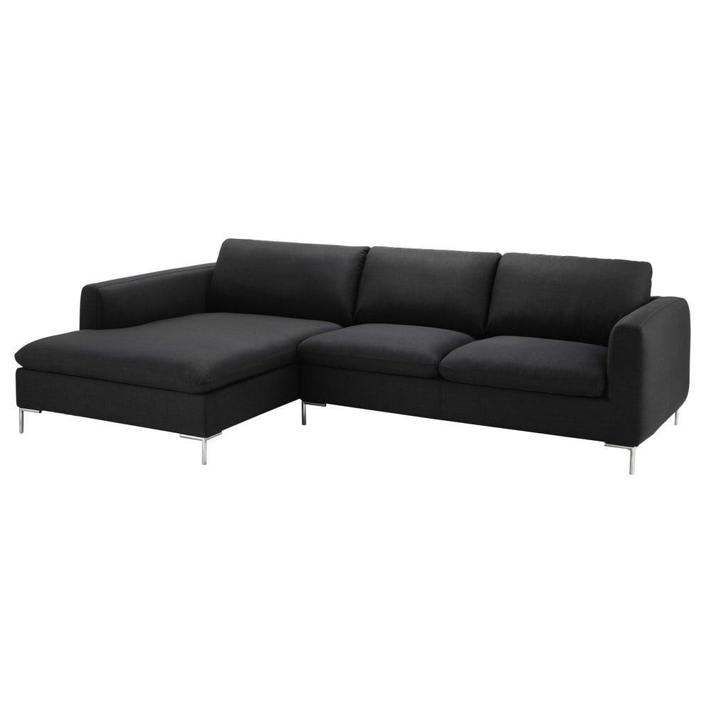 anthracite canap modulable maisons du monde. Black Bedroom Furniture Sets. Home Design Ideas