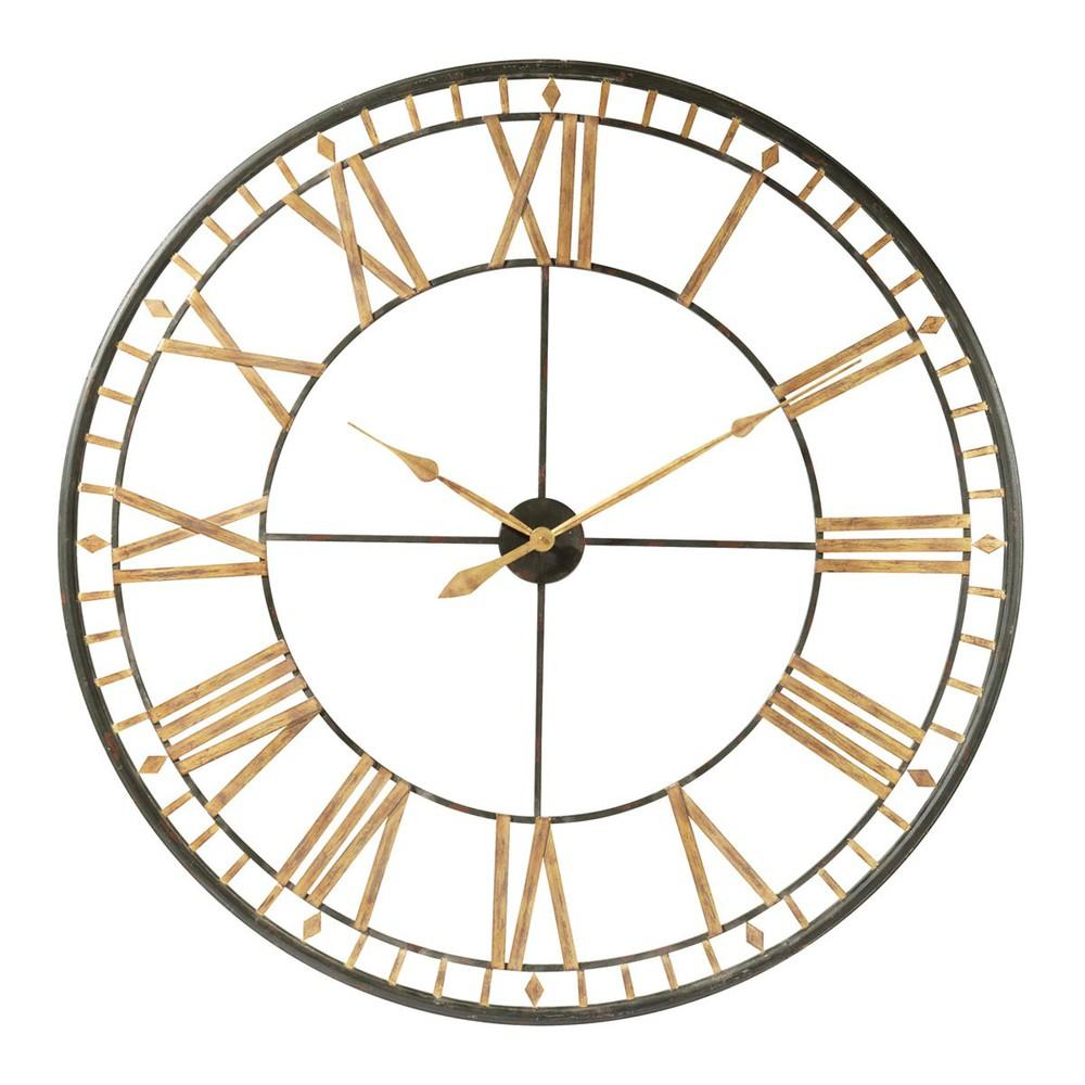 La Vallière Horloge Murale Maisons Du Monde