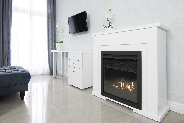 lincoln chemin e sans conduit d 39 vacuation blanc planika. Black Bedroom Furniture Sets. Home Design Ideas