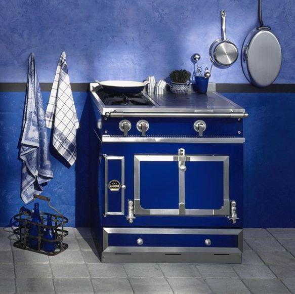 CASTEL 75 - Cuisinière - Bleu - La Cornue   Decofinder