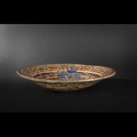 Expertissim - Assiette décorative-Expertissim-Plat hispano-mauresque, XVIème siècle