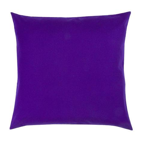 TROIS MAISON - Coussin carré-TROIS MAISON-COUSSIN FEUILLE rose 65 X 65 cm