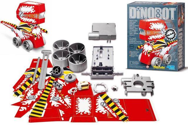 4M - Jeu de société-4M-Dinosaure mécanique à construire dinorobot