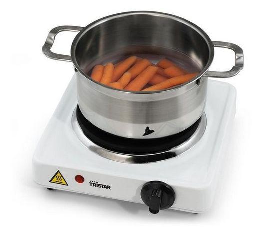 Tristar - Table de cuisson à gaz-Tristar-Rchaud lectrique KP-6193