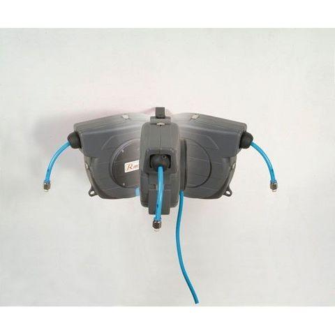 RIBITECH - Compresseur à air-RIBITECH-Dévidoir automatique à air 9m de tuyau RIBITECH
