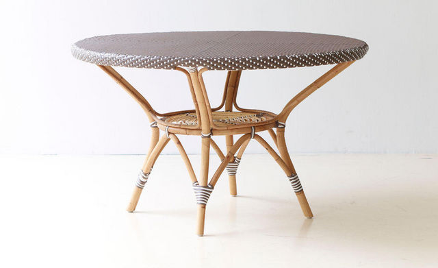 Sika design - Table de jardin-Sika design-Table de jardin en rotin Danielle